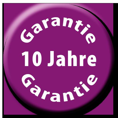 10-Jahre-Garantie